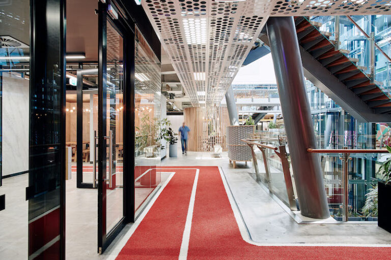 Office Interior Running Track