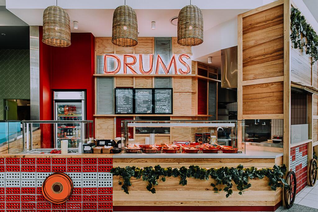 Drums interior retail